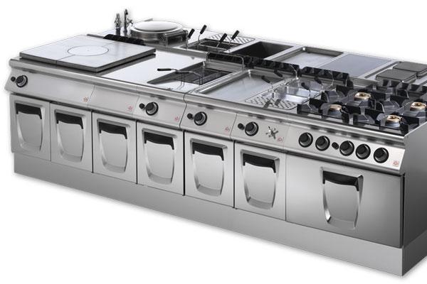Cucine industriali como ellew professional soluzioni for Cucine industriali